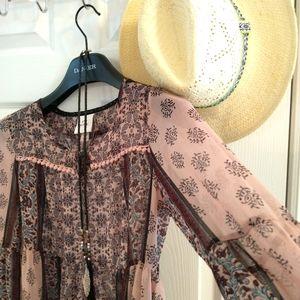 Knox Rose Bohemian blouse xs